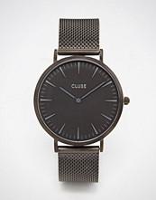 Cluse La Boheme Black Mesh Watch CL18111