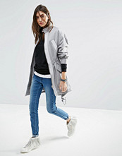ASOS Oversized Lightweight Jacket with Clean Details