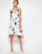 Coast Marie Scuba Carmel Print dress