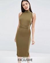 Club L Multiway Rib Midi Dress