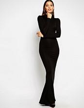 Club L High Neck Jersey Maxi Dress
