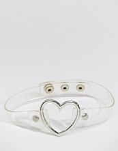 Reclaimed Vintage 90's Heart Choker