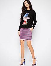 Love Moschino Neon Tapestry Skirt