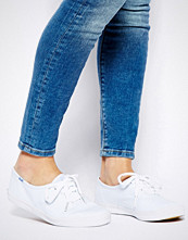 Keds Champion Canvas White Plimsoll Shoes