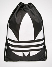 Adidas Originals Drawstring Backpack in Black