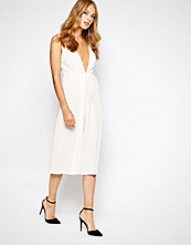 Bcbgeneration Culotte Jumpsuit in White