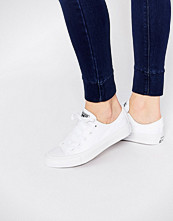Converse All Star Chuck Taylor Pure White Ox II Plimsoll Trainers