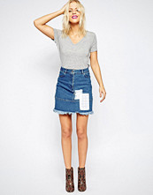 House of Holland Patch Skirt