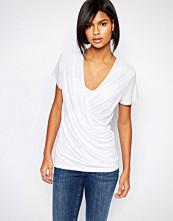 Vila Wrap Front T-Shirt