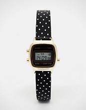 ASOS Mini Digital Watch on Polka Dot Strap