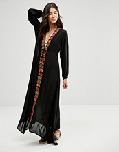Raga Drift Away Embroidered Dress In Black