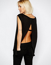 Dr.Denim Olga Open Back Top With Foil Front