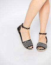 Boohoo Coin Detail Espadrille Sandal