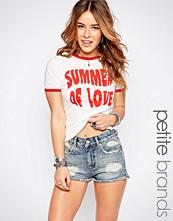 Glamorous Petite Summer Of Love Retro Tee