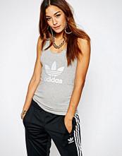 Adidas Originals Skinny Vest Top With Trefoil Logo