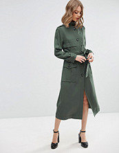 ASOS Duster Coat in Utility Styling