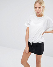 Nike Bonded Oversized T-Shirt With Waist Detail