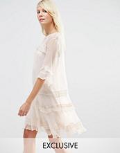 Needle & Thread Chiffon Frill Dress