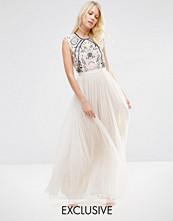 Needle & Thread Embroidery Lace Maxi Dress