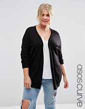 ASOS Curve Swing Cardigan with Elbow Patches