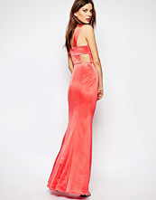 Bcbgeneration Maxi Dress with Back Detail in Pink