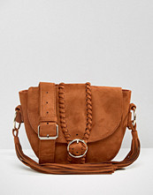 Missguided Plait Detail Festival Bag