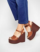 Boohoo Platform Wedge Sandal