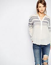 Samsøe & Samsøe Samsoe & Samsoe Mia Linen Mix Striped Shirt