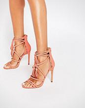 ALDO Catarina Coral Heeled Strappy Tassel Sandal