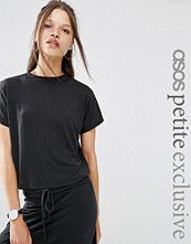 ASOS Petite T-shirt in Cupro Co-ord