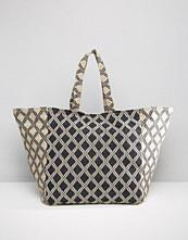 Pimkie Geo Print Shopper Bag