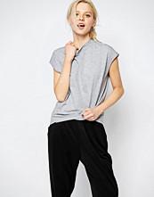 Monki High Round Neck T-Shirt