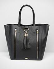 Faith Tassel Front Tote Bag