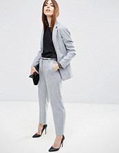 ASOS Premium Tailored Trousers in Linen Look Yarn