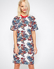 House of Holland Floral Print T-shirt Dress