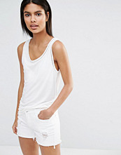 Vila Lace Insert Detail Vest Top