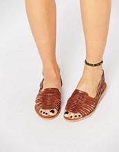 Warehouse Huarache Plaited Sandal