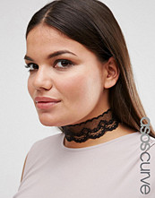 ASOS Curve NIGHT Lace Choker Necklace