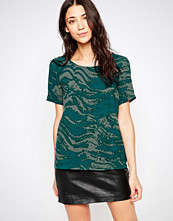 Ichi Wave Print Top