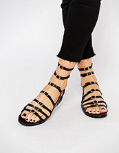 Pull&bear Multi Strap Buckle Sandals