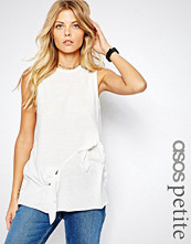 ASOS Petite T-shirt with Double Knot Detail