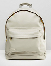 Mi-pac Tumbled Backpack in Faux Leather
