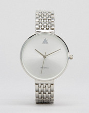 ASOS Large Face Watch With Skinny Bracelet Strap