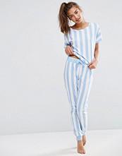 ASOS Deckchair Stripe Tee & Jogger Pyjama Set