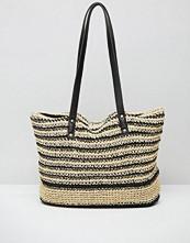 Pimkie Straw Woven Shopper Bag