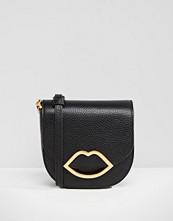 Lulu Guinness Small Amy Leather Across Body Bag