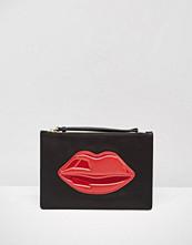 Lulu Guinness Clutch Bag with Lips