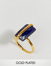 Ottoman Hands Lapis Stone Ring