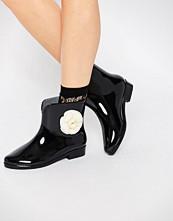 Glamorous Corsage Wellington Boots