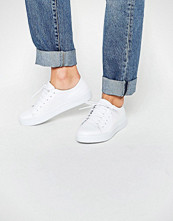 Sixtyseven Irma White Lace Up Trainers